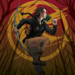 Hunger games fan art.